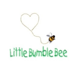 Little Bumble Bee embroidery design