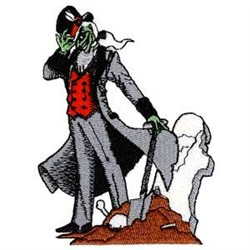 Grave Digger embroidery design