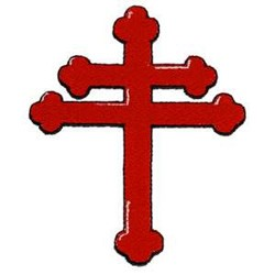 Greek Orthodox Cross embroidery design