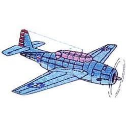 TBF-1 Avenger embroidery design