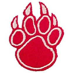 Bear Paw embroidery design