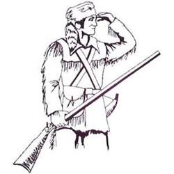 Pioneer Mascot embroidery design