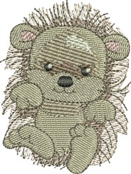 Baby Hedgehog embroidery design