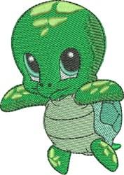 Beryl the Sea Turtle embroidery design