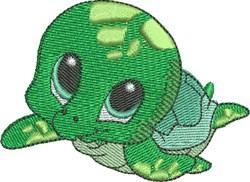 Zale the Sea Turtle embroidery design
