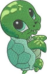 Hali the Sea Turtle embroidery design