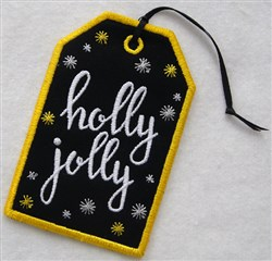 ITH Christmas Gift Card Holder 3 embroidery design