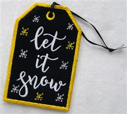 ITH Christmas Gift Card Holder 5 embroidery design