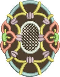 Chocolate Easter Egg 1 embroidery design