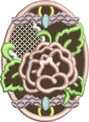 Chocolate Easter Egg 5 embroidery design