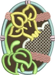 Chocolate Easter Egg 9 embroidery design