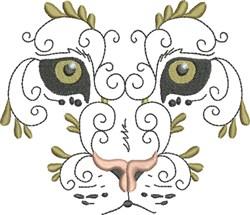 Exotic Wild Cat embroidery design