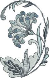 Royal Fleur De Lis Floral embroidery design
