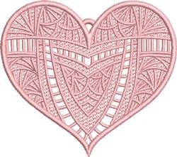 FSL Fancy Heart 1 embroidery design