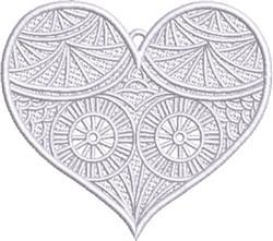 FSL Fancy Heart 2 embroidery design
