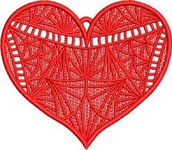 FSL Fancy Heart 3 embroidery design