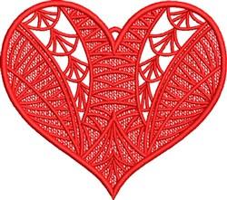 FSL Fancy Heart 7 embroidery design
