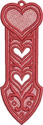 FSL Heart Bookmark 1 embroidery design