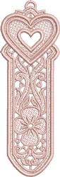 FSL Heart Bookmark 2 embroidery design