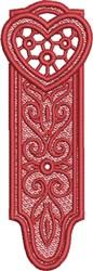FSL Heart Bookmark 4 embroidery design