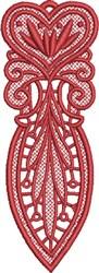 FSL Heart Bookmark 6 embroidery design