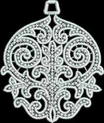 FSL Small Ornament embroidery design