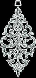 FSL Beaded Spire Ornament embroidery design