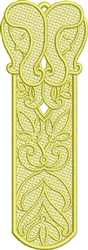 FSL Gemini Bookmark embroidery design