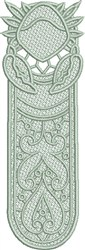 FSL Cancer Bookmark embroidery design