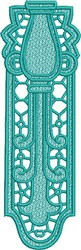 FSL Aquarius Bookmark embroidery design