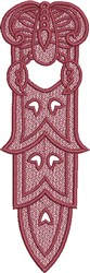 FSL Scorpio Bookmark embroidery design