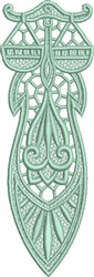 FSL Libra Bookmark embroidery design