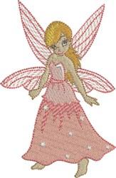 Melon Gracious Fairy embroidery design