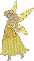 Lemon Gracious Fairy embroidery design