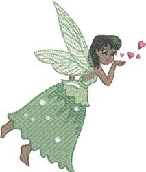 Kiwi Gracious Fairy embroidery design