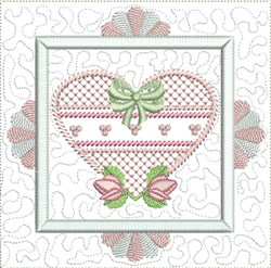 Dainty Quilt Block embroidery design