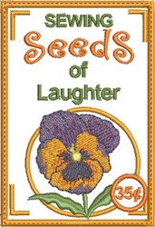 ITH Sewing Seeds of Laughter embroidery design