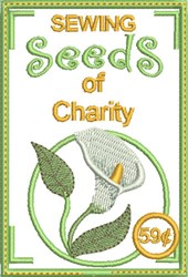 Sewing Seeds of Charity embroidery design