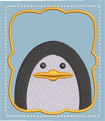 Memory Game Penguin embroidery design
