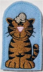 Meow Meow There embroidery design