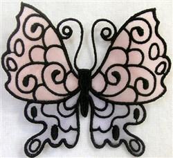 ITH FS Organza Butterly 1 embroidery design