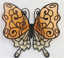 ITH FS Organza Butterfly 3 embroidery design