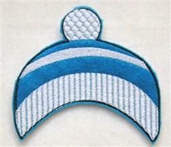 Felt Boy Paperdoll Knit Cap embroidery design