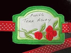 Stabilizer Label B embroidery design