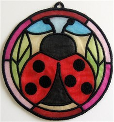 ITH Organza Suncatcher 4 embroidery design