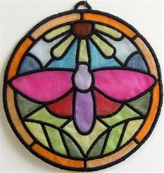 ITH Organza Suncatcher 5 embroidery design