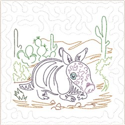 ITH SW Desert Baby Quilt 1 embroidery design