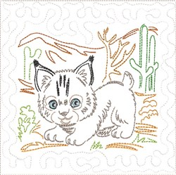 ITH SW Desert Baby Quilt 2 embroidery design