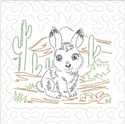 ITH SW Desert Baby Quilt 4 embroidery design