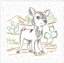 ITH SW Desert Baby Quilt 5 embroidery design